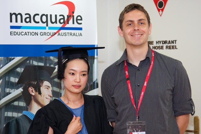 macquarie Education Group Australia 卒業式